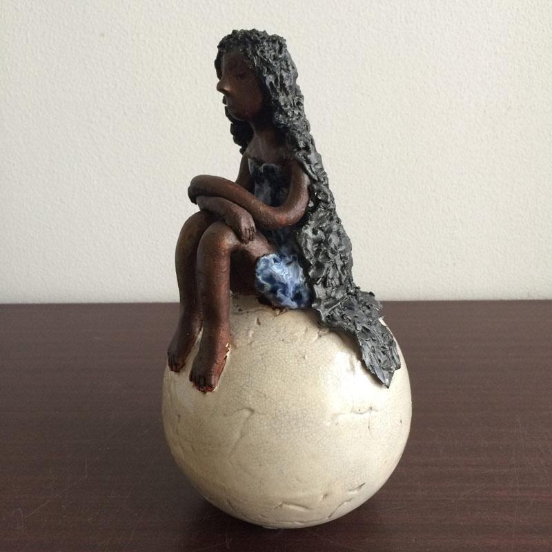 Keramiek beeld - meisje  AVDV-MG8148 2