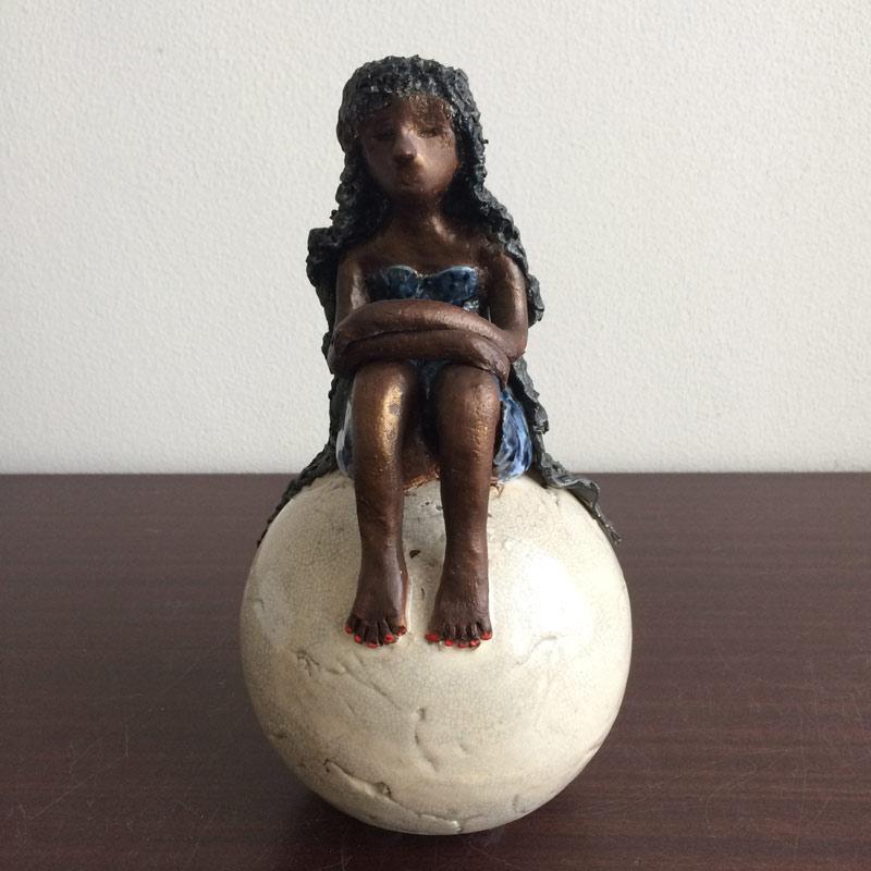 Keramiek beeld - meisje  AVDV-MG8148 1